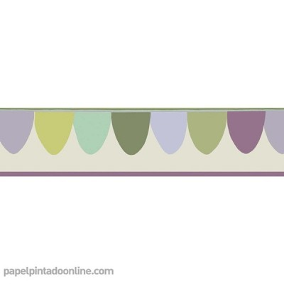 Sanefa Paper pintat WHIMSICAL 103-8028