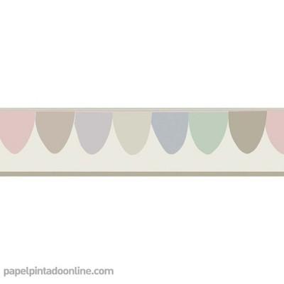 Cenefa Papel pintado WHIMSICAL 103-8027