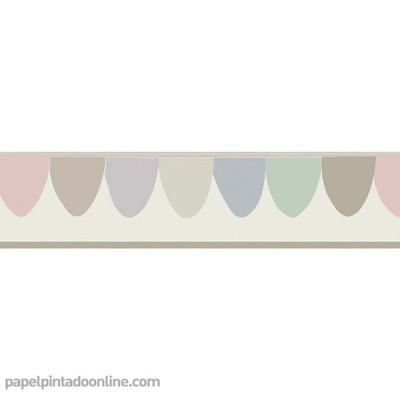 Sanefa Paper pintat WHIMSICAL 103-8027