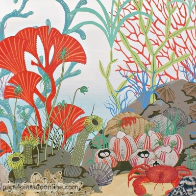 Sanefa Paper pintat WHIMSICAL 103-12054
