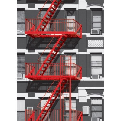 Fotomural FIRE ESCAPE