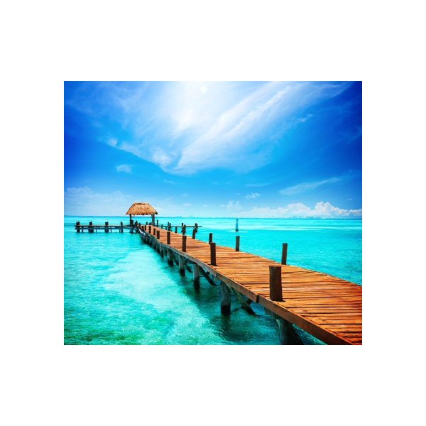Fotomural Praia FPL003, 170cm. x 150.4cm., Vinilo Autoadhesivo Mate, Todo Color, Invertir, 0x0x0x0 cm.
