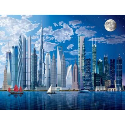 Fotomural WORLD'S TALLEST BUILDINGS