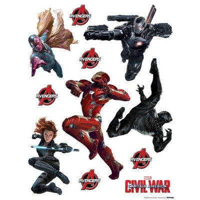STICKER DISNEY CAPTAIN AMERICA: CIVIL WAR DK-1799