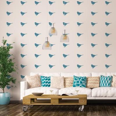 Vinil Decorativo Pássaros PA011