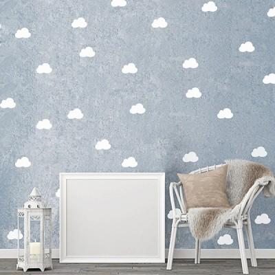 Vinilo Decorativo Nubes PA023