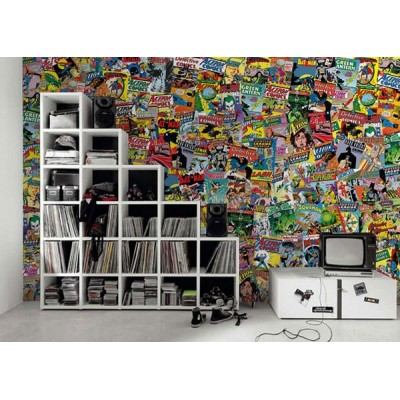 Fotomural Collage COMICS