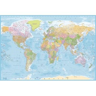 Fotomural W2PL BLUE MAP 007