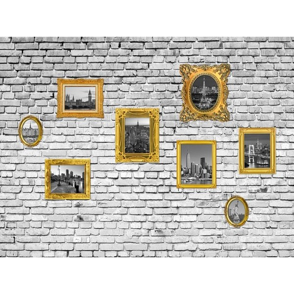 Fotomural PICTURES ON THE WALL