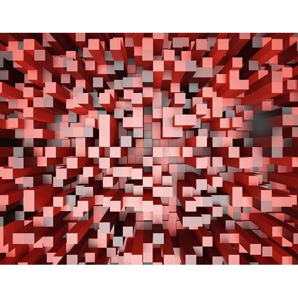 Fotomural 3D SQUARES