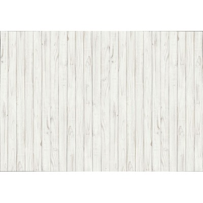 Fotomural WHITE WOODEN WALL