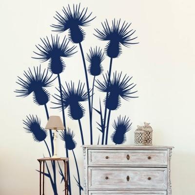 Vinilo Decorativo Floral FL107