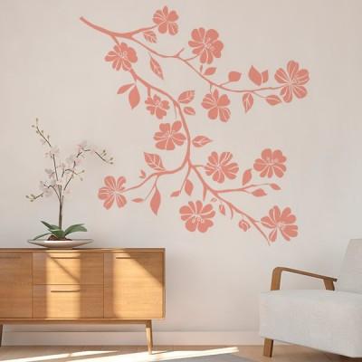 Vinil Decorativo Floral FL113