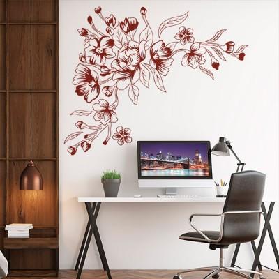 Vinilo Decorativo Floral FL114
