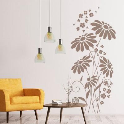 Vinilo Decorativo Floral FL116