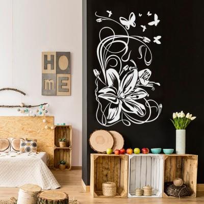 Vinilo Decorativo Floral FL118