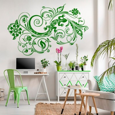 Vinil Decorativo Floral FL120
