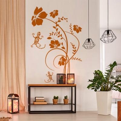 Vinilo Decorativo Floral FL121