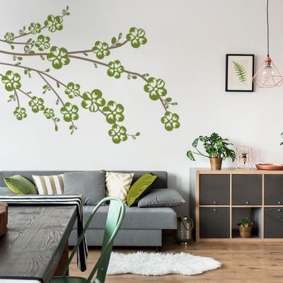 Vinilo Decorativo Floral FL215