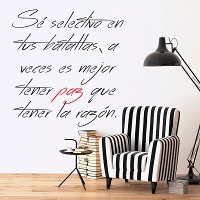 Vinilo Decorativo Textos TE207