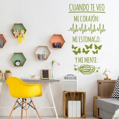 Vinilo Decorativo Texto TE033