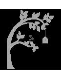 Vinilo Decorativo Moderno MO218, Mediano, Gris Claro 8288-04, Gris Oscuro 8288-01, Invertir