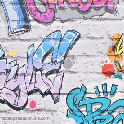 Papel pintado FREESTYLE L17905