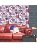 Papel de parede FREESTYLE L22629