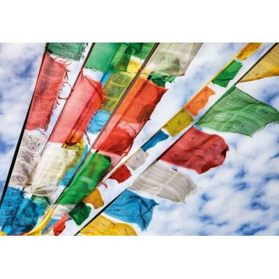 Fotomural PRAYER FLAGS