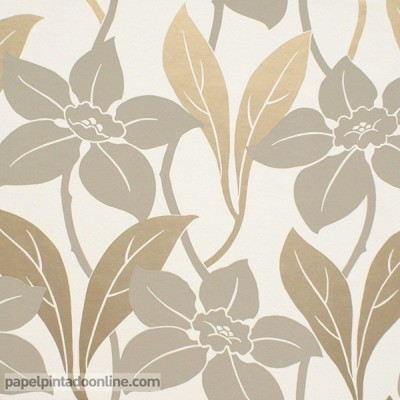 Papel de parede flores GOA 411173