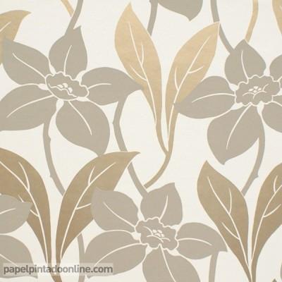 Papel pintado flores GOA 411173