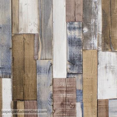 Papel de parede madeira 203707
