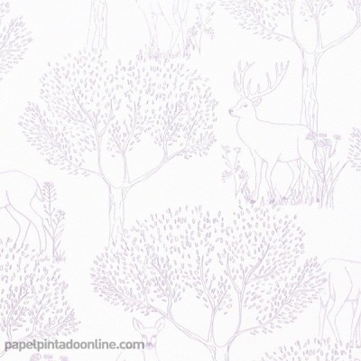Papel pintado PRETTY LILI PRLI_6922_50_05