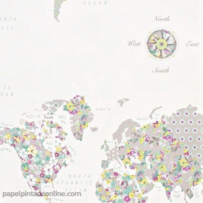 Paper pintat PRETTY LILI PRLI_6918_50_70