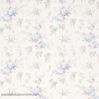 Papel de parede FLORES VINTAGE 5825-08
