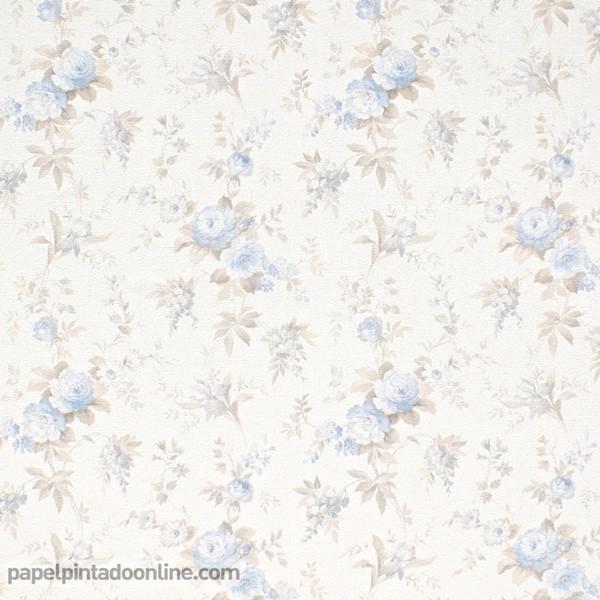 Papel pintado FLORES VINTAGE 5825-08