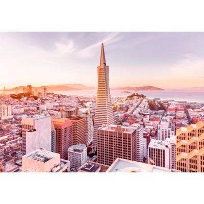 Fotomural SAN FRANCISCO MORNING