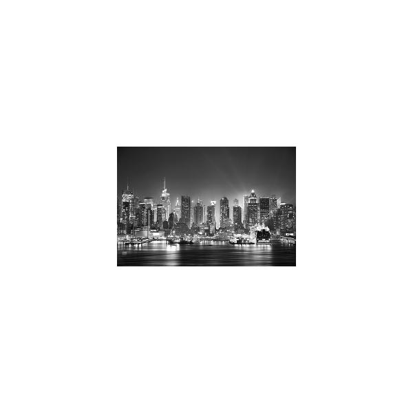 Fotomural New Jersey FCI011, 190cm. x 127.3cm., Vinilo Autoadhesivo Mate, Blanco y Negro, Invertir, 0x0x0x0 cm.
