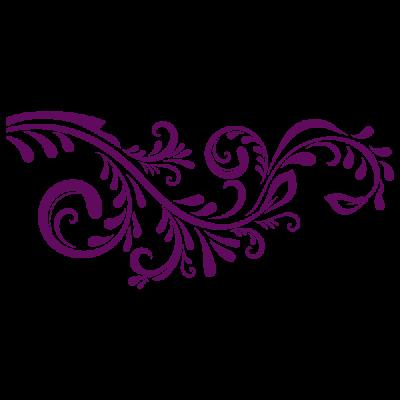 Vinilo Decorativo Floral FL079, Mediano, Violeta 8258-07, Invertir