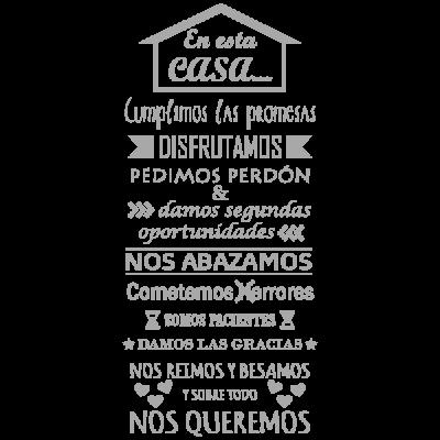 Vinilo Decorativo Texto TE036, Pequeño, Gris Claro 8288-04, Original