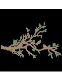 Vinilo Decorativo Moderno MO203, Grande, Beige Oscuro 8988-14, Verde Pesto 8948-25, Invertir