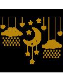 Vinil Decorativo Infantil IN177, Pequeño, Oro 8278-00, Original