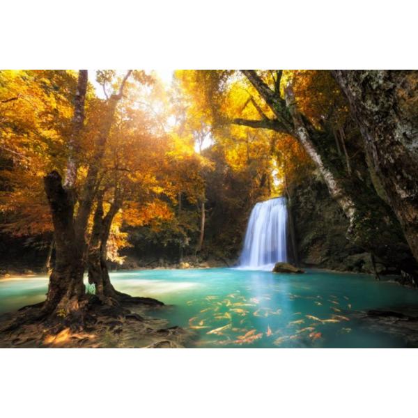 Fotomural Cachoeira FPR036, 100cm. x 67cm., Vinilo Autoadhesivo Mate, Todo Color, Original, 0x0x0x0 cm.