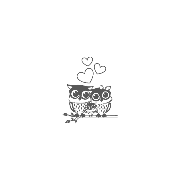 Vinilo Decorativo Infantil IN138, Pequeño, Gris Oscuro 8288-01, Original
