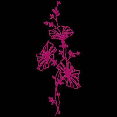 Vinilo Decorativo Floral FL104, Pequeño, Magnolia 8958-21, Original