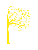 Vinilo Decorativo Infantil IN218, Grande, Amarillo 8208-02, Amarillo 8208-02, Original