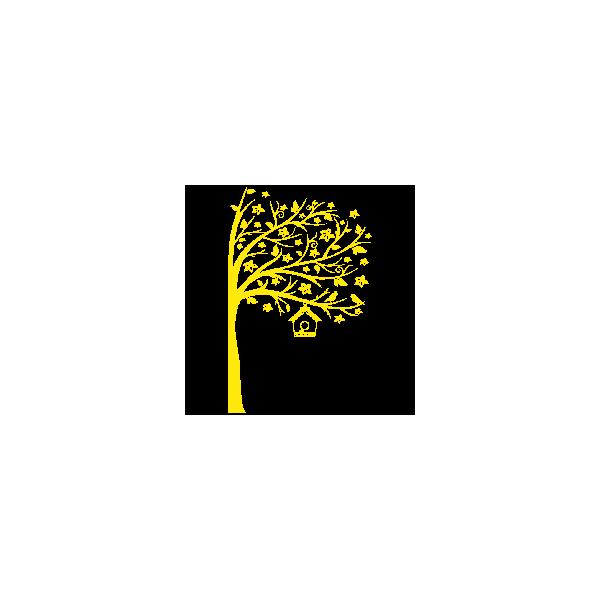 Vinilo Decorativo Infantil IN218, Pequeño, Amarillo 8208-02, Amarillo 8208-02, Original