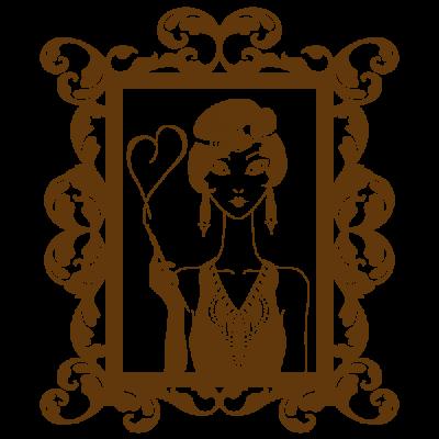 Vinil Decorativo Moderno MO118, Pequeño, Marron 8282-01, Original