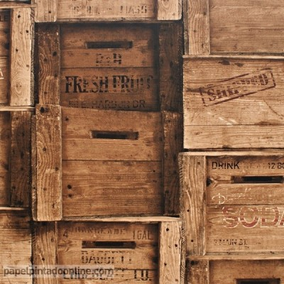 Paper pintat CAIXES VINTAGE FD40943