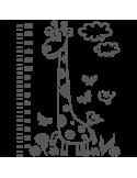 Vinilo Decorativo Infantil IN182, Grande, Gris Oscuro 8288-01, Original